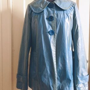 Tulle by Anthropologie Swing Raincoat